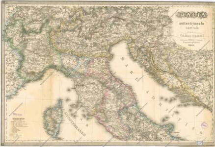 Italia settentrionale e centrale