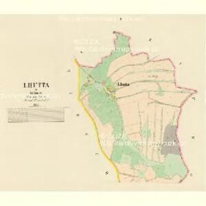 Lhutta - c3969-1-001 - Kaiserpflichtexemplar der Landkarten des stabilen Katasters