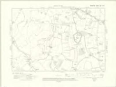 Berkshire XXV.SW - OS Six-Inch Map