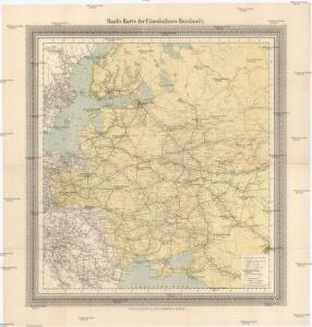 Raab's Karte der Eisenbahnen Russland's