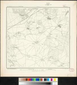 Messtischblatt 288 : Strelln, 1874 Strelln