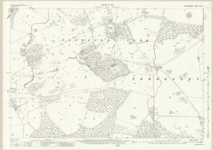 Staffordshire XLIV.16 (includes: Penkridge; Teddesley Hay) - 25 Inch Map