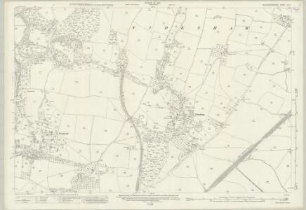 Gloucestershire LIV.7 (includes: Tidenham) - 25 Inch Map