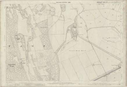 Westmorland XLV.8 (includes: Broughton East; Grange; Meathop And Ulpha; Upper Allithwaite) - 25 Inch Map