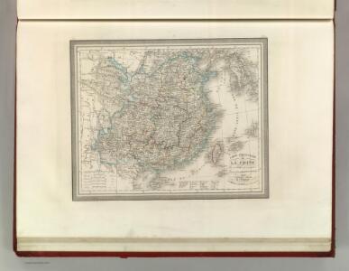 Carte Particuliere de la Chine.