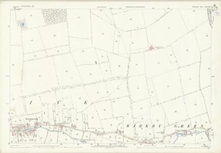 Lincolnshire LXXXVII.7 (includes: Scopwick) - 25 Inch Map