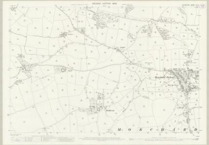 Devon LIV.3 (includes: Lapford; Morchard Bishop) - 25 Inch Map