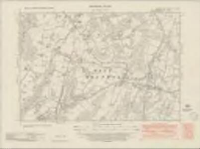 Sussex XV.NE - OS Six-Inch Map