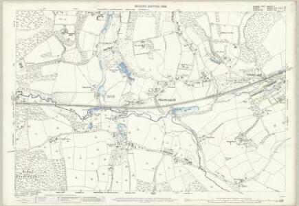 Sussex X.4 (includes: Fernhurst; Haslemere; Linchmere; North Ambersham) - 25 Inch Map