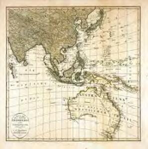 Zweyte Tafel [Süd- und Ostasien, Australien]