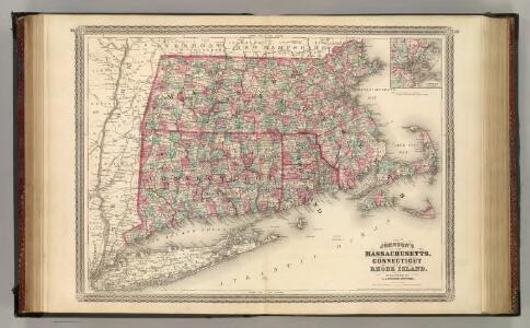 Massachusetts, Connecticut, and Rhode Island.