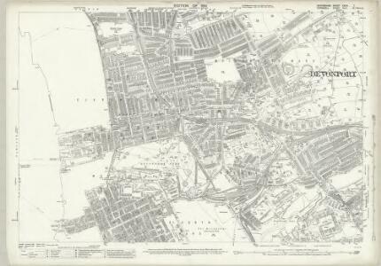 Devon CXXIII.7 (includes: Devonport; East Stonehouse; Plymouth) - 25 Inch Map