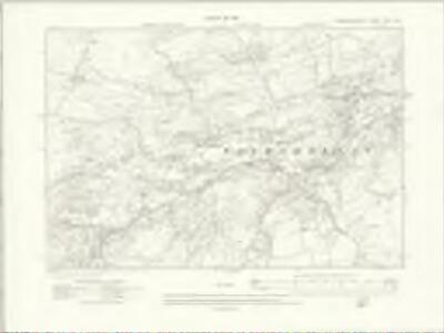 Caernarvonshire XXIII.SW - OS Six-Inch Map
