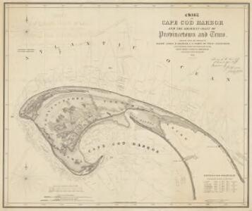 Chart of Cape Cod Harbor and the adjacent coast of Provincetown and Truro