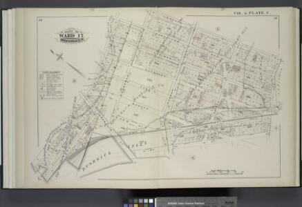 Vol. 6. Plate, C. [Map bound by Manhattan Ave., Leonard St., Van Cott Ave., North 14th St., Franklin St., Calyer St.; Including Lorimer St., Guernsey St., Dobbin St., Banker St., Gem St., West St., North 15th St., Quay St., Meserole Ave., Norman Ave., 2n