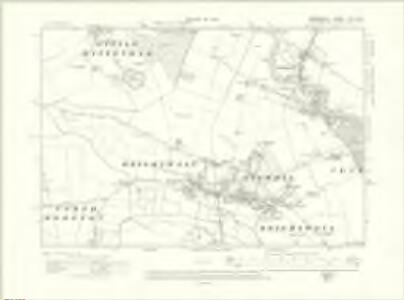 Berkshire XVI.NW - OS Six-Inch Map