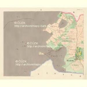 Rzakom - c6675-1-002 - Kaiserpflichtexemplar der Landkarten des stabilen Katasters
