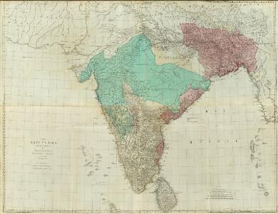 Composite: East Indies with roads.
