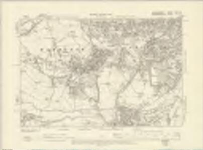 Staffordshire LXXII.SE - OS Six-Inch Map