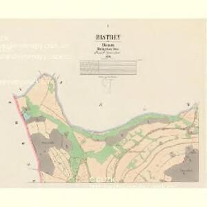 Bistrey - c0714-1-001 - Kaiserpflichtexemplar der Landkarten des stabilen Katasters