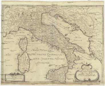 P. Cluverii Italia antiqva cum insulis adiacentibus Sicilia, Corsica et Sardania adiectae sunt et Illyride Libvrnia, et Dalmatia circumuicinaru[m]q[ue] regionu[m] partes alicot