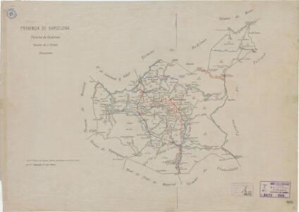 Mapa planimètric de Vacarisses
