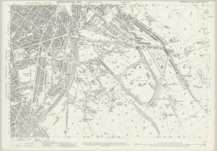 Yorkshire CCXCIV.12 (includes: Sheffield) - 25 Inch Map