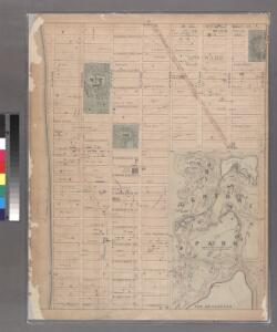 Sheet 15: [Bounded by [W. Hundred & Twenty Fourth Street], 6th Avenue, W. Hundred & Ninteenth Street, 5th Avenue, Central Park, [W. Ninety Second Street] and 12th Avenue.]