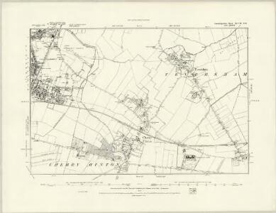 Cambridgeshire XLVII.NW - OS Six-Inch Map
