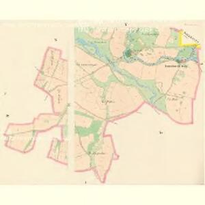 Herzman (Heřmana) - c1842-1-004 - Kaiserpflichtexemplar der Landkarten des stabilen Katasters
