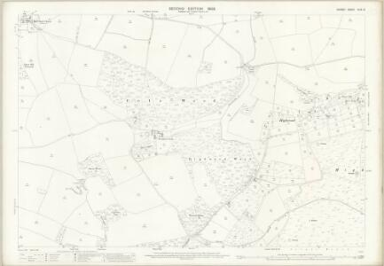 Dorset XLIX.10 (includes: Coombe Keynes; East Stoke; Wool) - 25 Inch Map