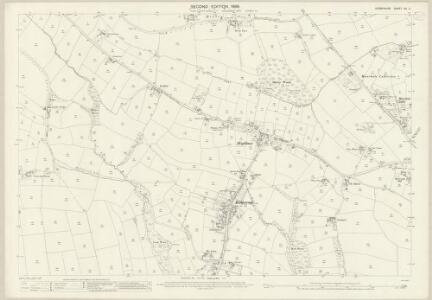 Derbyshire XII.11 (includes: Beighton; Eckington) - 25 Inch Map