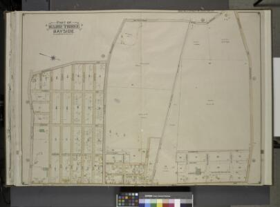 Queens, Vol. 3, Double Page Plate No. 17; Part of     ward Three Bayside; [Map bounded by Titus Ave., Rocky Hill Road, Woodhull Ave.,  Bradford Ave., Torrey Ave., Higgins Ave., Hurd Ave., Jones Ave., Prince Ave.,    Stratton Ave., Mauriac Ave., Vernon