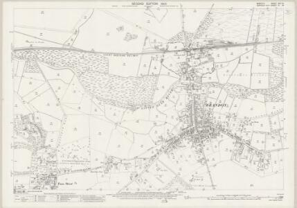 Norfolk XCII.16 (includes: Brandon; Weeting With Bromehill) - 25 Inch Map