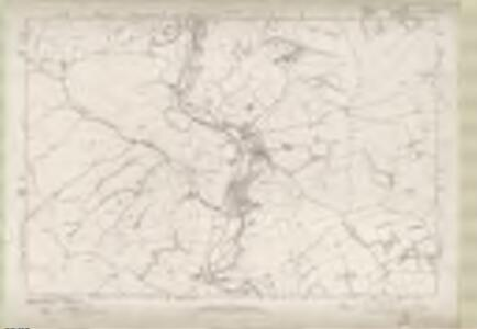 Roxburghshire Sheet n I - OS 6 Inch map