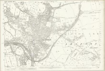 Yorkshire CLXVIII.5 (includes: Skipton) - 25 Inch Map