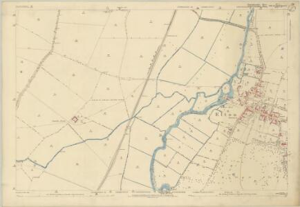 Huntingdonshire IV.7 (includes: Elton; Fotheringhay) - 25 Inch Map