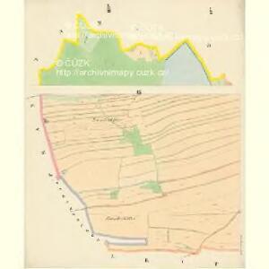 Budweis - c0964-1-009 - Kaiserpflichtexemplar der Landkarten des stabilen Katasters