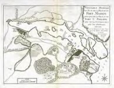 Veritable position du plan de la ville et du Port Mahon ainsi que de la ville et du Fort St. Philippe