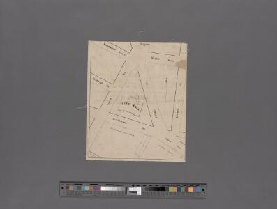[Map of the vicinity of City Hall, Brooklyn.]