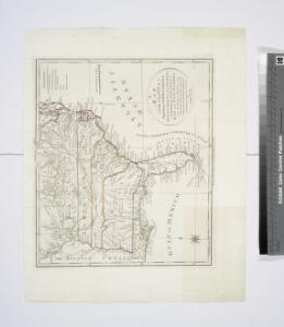 A map of the states of Virginia, North Carolina, South Carolina and Georgia : comprehending the Spanish provinces of east and west Florida : exhibiting the boundaries as fixed by the late treaty of peace between the United States and the Spanish dominion