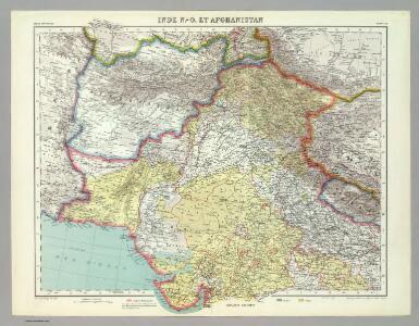 Inde N.-O. et Afganistan.