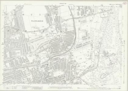 Essex (New Series 1913-) n LXXVIII.5 (includes: Leyton; Walthamstow) - 25 Inch Map