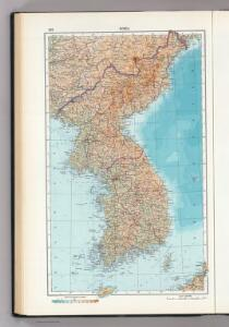 122.  Korea.   The World Atlas.