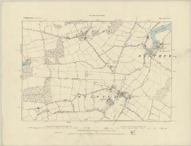 Northamptonshire XII.SE - OS Six-Inch Map