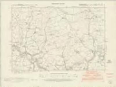 Denbighshire XXIII.NE - OS Six-Inch Map