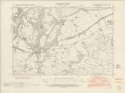 Caernarvonshire VII.SW - OS Six-Inch Map