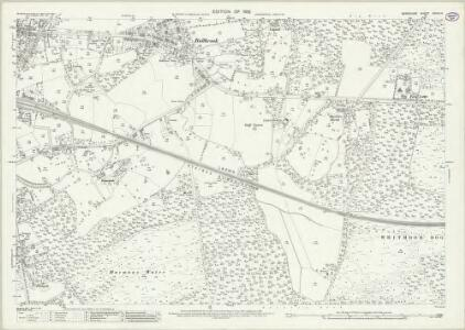 Berkshire XXXIX.14 (includes: Easthampstead; Warfield; Winkfield) - 25 Inch Map