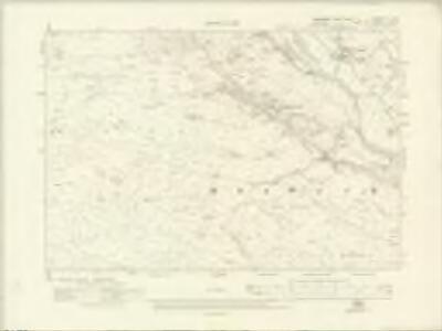 Yorkshire II.SW - OS Six-Inch Map