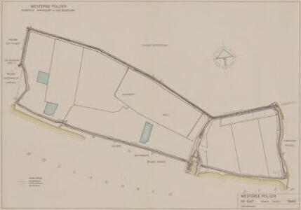 Westerse polder, gemeente Numansdorp en Zuid-Beijerland.